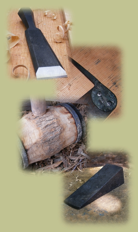 hand Tools, Splitting Wedges, Hand Saws, SHarpening, Beetles, Wedges
